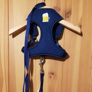 dog or cat harness and leash